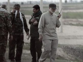 The Iranian commander Soleimani in Iraq