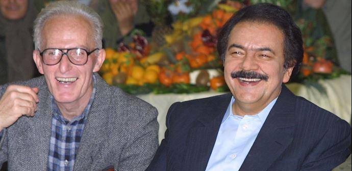 Mohammad Seyedi Kashani & Iranian Opposition Leader Massoud Rajavi
