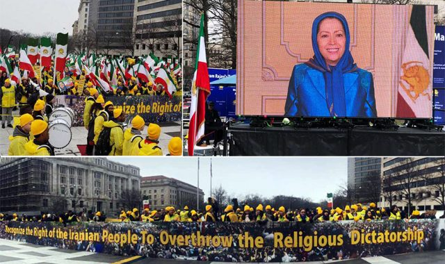 Washington Rally Supports Iranians Uprising For Regime Change + Video