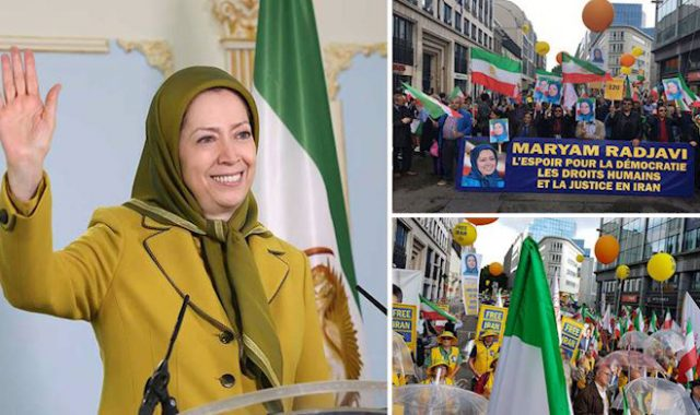 Major Brussels Rally Urges EU to Impose Sanctions on Iran's Regime