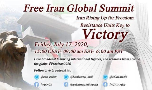 Free Iran Global Summit, Iran Rising Up for Freedom