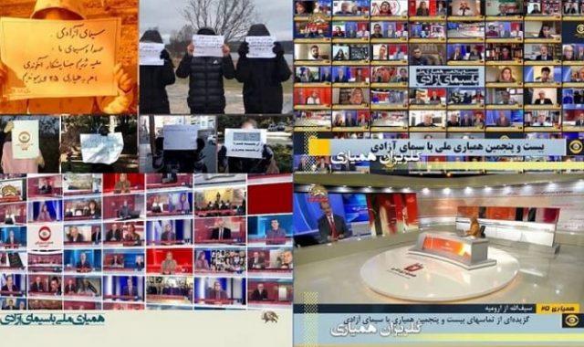 Iran: 50-Hour Free Iran Telethon, by the Opposition Satellite TV, Iran-NTV